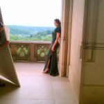 Biltmore Estate photo shoot: TV starlet Bellamy Young poses for Southern Living