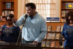 Walken:dancing::Robinson:singing. (Lionsgate)