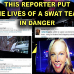 WLOS reporter's tweets of Asheville stand-off raise ire