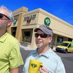 Randy Talley and Roger Derrough, co-owners of Green Sage Cafe, which is opening its third Asheville restaurant in the Westgate Shopping Center./ Photographed by STEWART O'SHIELDS for ASHVEGAS.COM