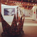 Art exhibition by WCU students up through today at The Tannery in Asheville's River Arts District
