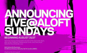 Aloft Hotel opens rooftop pool deck to public for series of local music events