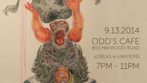 Asheville artist Yang Yu featured at Odd's Cafe on Haywood Road, show opening party Saturday